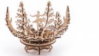3D Механичен Пъзел - Механично цвете 120273