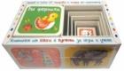 Във фермата. Комплект от книга и кубчета за игра и учене