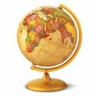 Глобус Marco Polo 30 см светещ политически