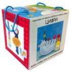Моята кула от кубчета (Комплект от картонена книга и кубчета за игра и учене)